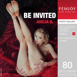 FEMJOY Be Invited feat Adelia B. release August 24, 2017  [IMAGESET 4000pix Siterip NUDEART]