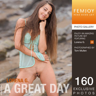 FEMJOY A Great Day feat Lorena G. release August 1, 2017  [IMAGESET 4000pix Siterip NUDEART]