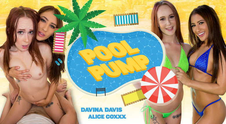 WankzVR Pool Pump  Siterip VR XXX