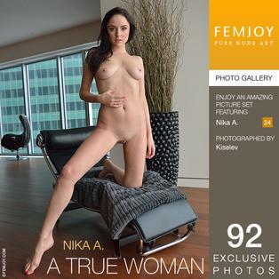 FEMJOY A True Woman feat Nika A. release August 11, 2017  [IMAGESET 4000pix Siterip NUDEART]