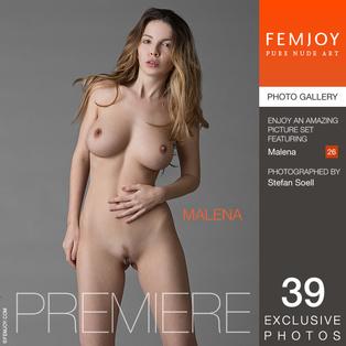 FEMJOY Premiere feat Malena release August 19, 2017  [IMAGESET 4000pix Siterip NUDEART]