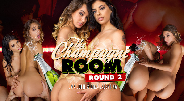 WankzVR Champagne Room Round 2  Siterip VR XXX