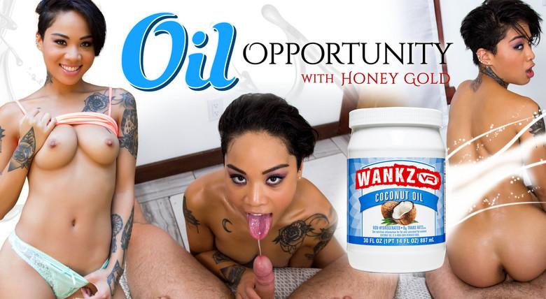 WankzVR Oil Opportunity  Siterip VR XXX Siterip