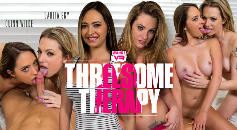 WankzVR Threesome Therapy  Siterip VR XXX