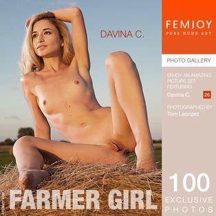 FEMJOY Farmer Girl feat Davina C. release September 27, 2017  [IMAGESET 4000pix Siterip NUDEART] Siterip RIP