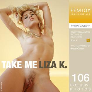 FEMJOY Take Me feat Liza K. release September 29, 2017  [IMAGESET 4000pix Siterip NUDEART]
