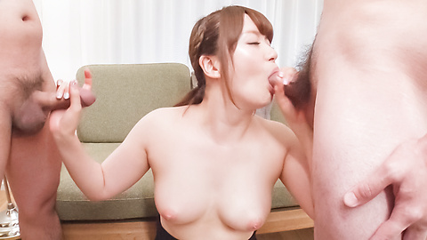 JavHD Passionate woman applies sensual blowjob on dicks  SiteRip Javhd ASIAN XXX Video 720p 1400x768px AAC.MP4