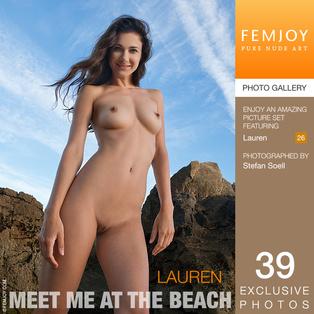 FEMJOY Meet Me At The Beach feat Lauren release September 9, 2017  [IMAGESET 4000pix Siterip NUDEART]