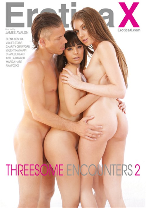 Threesome Encounters 2 EroticaX  [DVD.RIP. H.264 2017] Siterip RIP