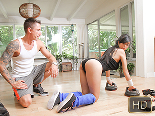 The Real Workout Jade Kush in The Realest Workout  [SITERIP XXX Teamskeet h.264 ]