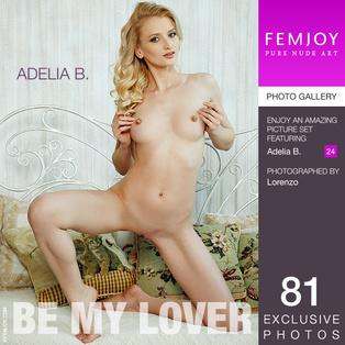 FEMJOY Be My Lover feat Adelia B. release October 4, 2017  [IMAGESET 4000pix Siterip NUDEART]