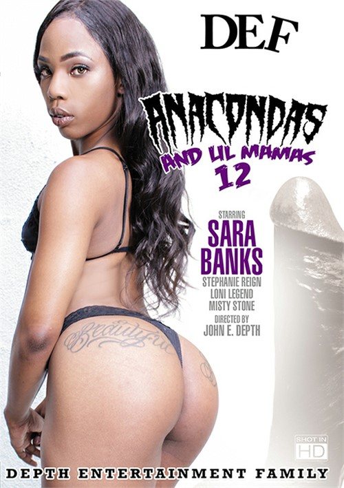 Anacondas & Lil Mamas #12 DEF Entertainment  [DVD.RIP. H.264 Production Year 2017 ] Siterip