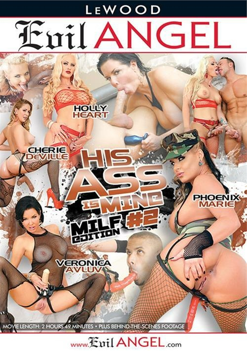 His Ass Is Mine #2: MILF Edition Evil Angel  [DVD.RIP. H.264 Production Year 2017 ]