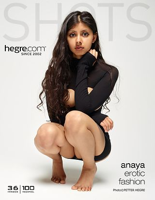 Hegre-Art Anaya erotic fashion  [Siterip FULL VIDEO/IMAGESET] Siterip