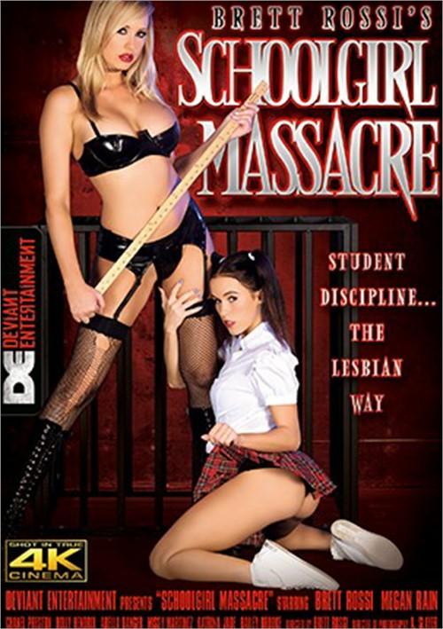 Brett Rossi's Schoolgirl Massacre Deviant Entertainment  [DVD.RIP. H.264 Production Year 2017 ]