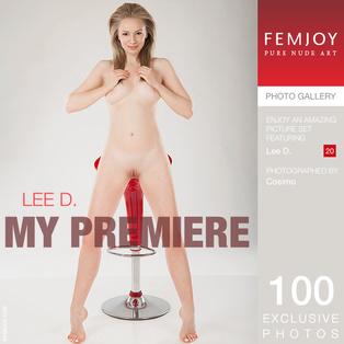 FEMJOY My Premiere feat Lee D. release November 29, 2017  [IMAGESET 4000pix Siterip NUDEART]