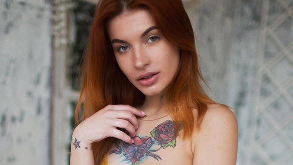 Suicide Girls Set of the day with sugarr  Siterip