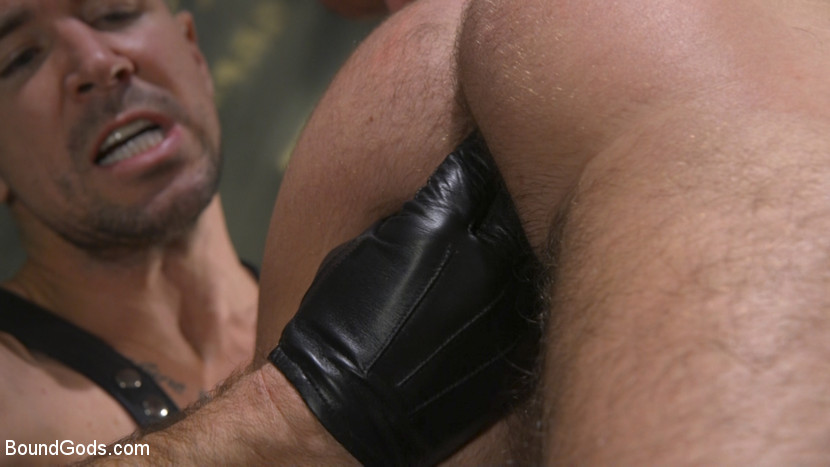 boundgods Leather God Trenton Ducati Dominates & Destroys Straight Stud Nov 9, 2017 Siterip BDSM Kink.com