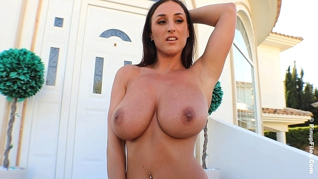 Pinupfiles Stacey Poole – Dark Silver Christmas 1  Siterip Video