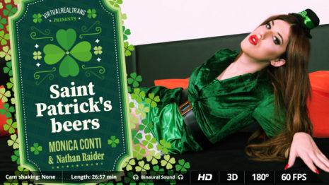 Virtualrealtrans Saint Patrick's beers  (26:57 min.)  Siterip VR XXX