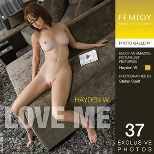 FEMJOY Love Me feat Hayden W. release December 23, 2017  [IMAGESET 4000pix Siterip NUDEART]