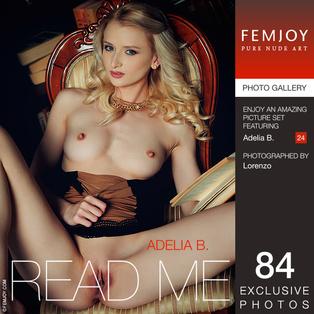 FEMJOY Read Me feat Adelia B. release December 22, 2017  [IMAGESET 4000pix Siterip NUDEART]