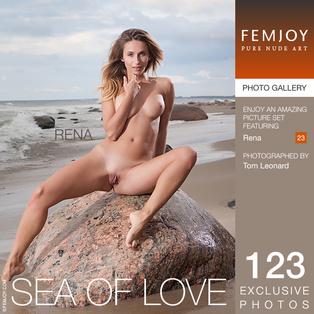 FEMJOY Sea Of Love feat Rena release December 24, 2017  [IMAGESET 4000pix Siterip NUDEART]