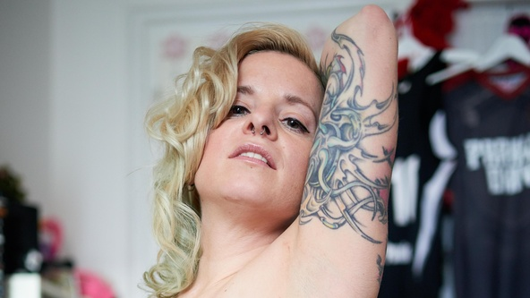 Suicide Girls Hopeful Set with b_disaster  Siterip