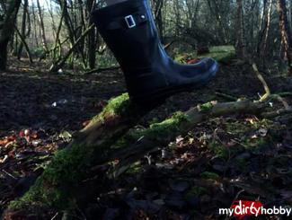MydirtyHobby Arikajira Black Wellies Outside Fetish 4 Arikajira  Video  GERMAN  H264 AAC  720p