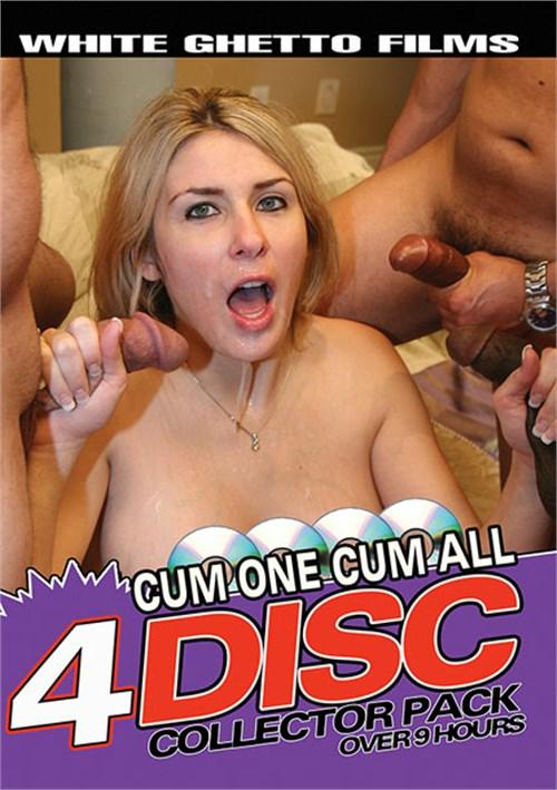 Cum One Cum All 4 Disc Collector Pack White Ghetto  [DVD.RIP. H.264 2017]