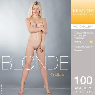 FEMJOY Blonde feat Kylie G. release January 11, 2018  [IMAGESET 4000pix Siterip NUDEART]