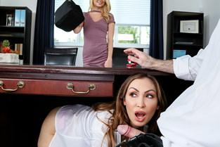 Riley Star, Yasmin Scott – Boss Shares Wife With Hot Secretary  SITERIP1080p wmv HD 1920×1000