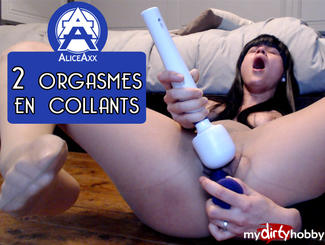 MydirtyHobby 2 orgasms with my tights Alice-Axx  Video  GERMAN  H264 AAC  720p
