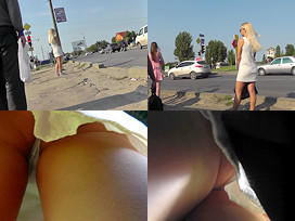 100Upskirts Upskirting video of blonde gal with sexy thong 100Upskirts  Upskirting video of blonde gal with sexy thong Videoclip SITERIP Siterip