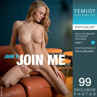 FEMJOY Join Me feat Jane F. release January 2, 2018  [IMAGESET 4000pix Siterip NUDEART]