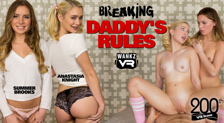 Wankz VR Breaking Daddy's Rules  Siterip VR 2060p Binaural