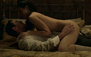 MrSkin Emanuela Postacchini Briefly Shows Off Her Posterior in The Alienist  Siterip Videoclip