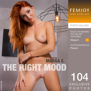 FEMJOY The Right Mood feat Marga E. release January 21, 2018  [IMAGESET 4000pix Siterip NUDEART]