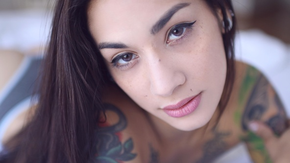 Suicide Girls Set of the day with hazee  Siterip