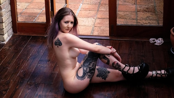 Suicide Girls Hopeful Set with ciaraf666  Siterip Siterip RIP
