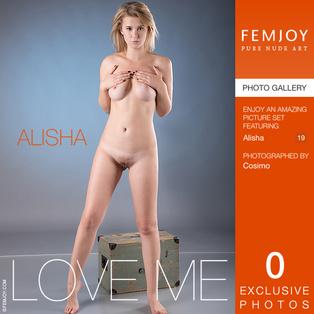 FEMJOY Love Me feat Alisha release January 6, 2018  [IMAGESET 4000pix Siterip NUDEART]