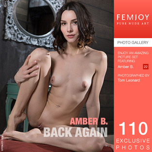 FEMJOY Back Again feat Amber B. release February 8, 2018  [IMAGESET 4000pix Siterip NUDEART]