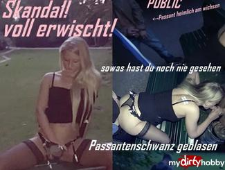 MydirtyHobby Public scandal fucking !! Now there is trouble Anna-Blond  Video  GERMAN  H264 AAC  720p