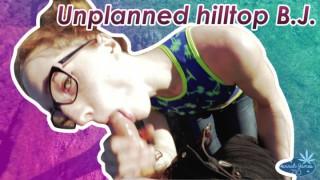 ManyVids HannahJames710 Unplanned hilltop blowjob  Siterip Clip XXX