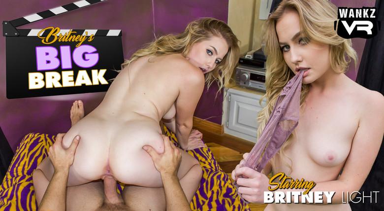 WankzVR Britney's Big Break  Siterip VR XXX