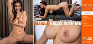 FEMJOY Relax With Me feat Alisa I. release February 4, 2018  [IMAGESET 4000pix Siterip NUDEART]