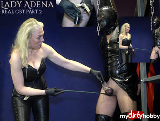 MydirtyHobby Nothing for wimps! Genuine CBT part 2 LadyAdena  Video  GERMAN  H264 AAC  720p