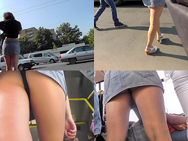100Upskirts Bubble-butt and thong of a brunette in upskirt mov 100Upskirts  Bubble-butt and thong of a brunette in upskirt mov Videoclip SITERIP