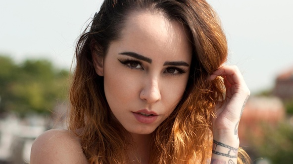 Suicide Girls Set of the day with eveel  Siterip
