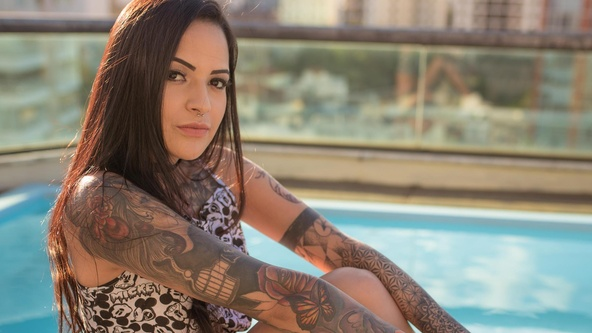 Suicide Girls Set of the day with angellima  Siterip